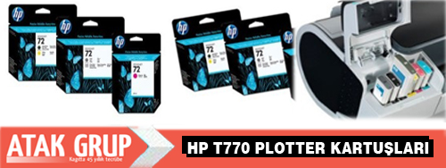 HP t770 Plotter kartuşu